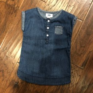 Denim Dress || 18-24 MO